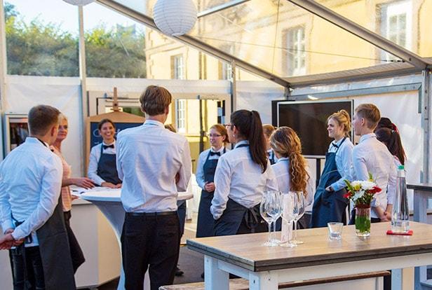 Team von food et event bei einer Besprechung