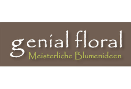Logo genial floral