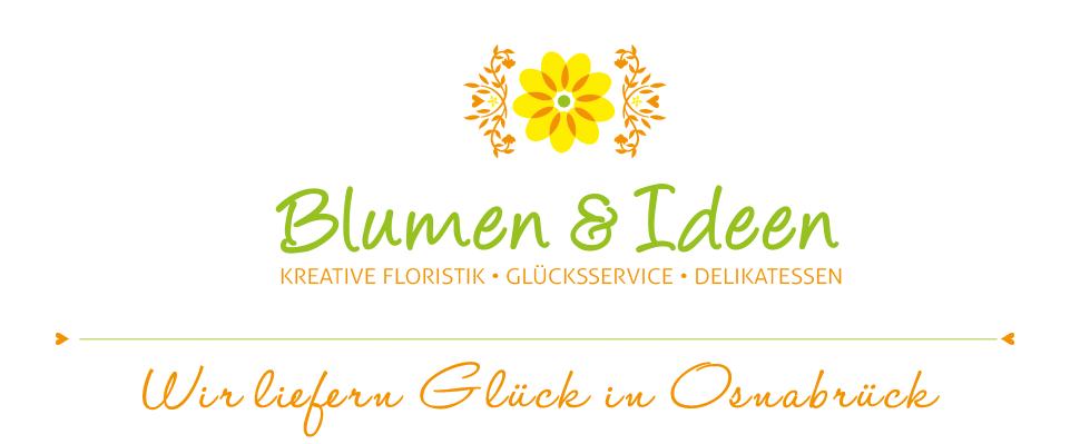 Logo von Blumen und Ideen